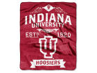Indiana Hoosiers The Northwest Company Raschel 50x60 Rebel Throw Bed & Bath