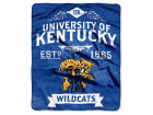 Kentucky Wildcats The Northwest Company Raschel 50x60 Rebel Throw Bed & Bath