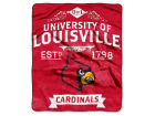 Louisville Cardinals The Northwest Company Raschel 50x60 Rebel Throw Bed & Bath