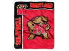 Maryland Terrapins The Northwest Company Raschel 50x60 Rebel Throw Bed & Bath
