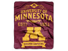 Minnesota Golden Gophers The Northwest Company Raschel 50x60 Rebel Throw Bed & Bath