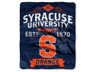 Syracuse Orange The Northwest Company Raschel 50x60 Rebel Throw Bed & Bath