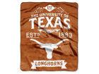 Texas Longhorns The Northwest Company Raschel 50x60 Rebel Throw Bed & Bath