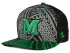 Marshall Thundering Herd Zephyr NCAA Kahuku Snapback Hat Adjustable Hats