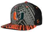 Miami Hurricanes Zephyr NCAA Kahuku Snapback Hat Adjustable Hats