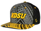 North Dakota State Bison Zephyr NCAA Kahuku Snapback Hat Adjustable Hats