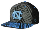North Carolina Tar Heels Zephyr NCAA Kahuku Snapback Hat Adjustable Hats