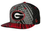 Georgia Bulldogs Zephyr NCAA Kahuku Snapback Hat Adjustable Hats