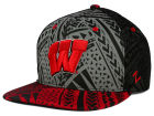 Wisconsin Badgers Zephyr NCAA Kahuku Snapback Hat Adjustable Hats