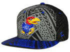Kansas Jayhawks Zephyr NCAA Kahuku Snapback Hat Adjustable Hats