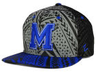 Memphis Tigers Zephyr NCAA Kahuku Snapback Hat Adjustable Hats