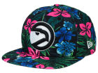 Atlanta Hawks New Era NBA HWC Shadow Floral 9FIFTY Snapback Cap Adjustable Hats