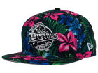 Detroit Pistons New Era NBA HWC Shadow Floral 9FIFTY Snapback Cap Adjustable Hats