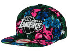 Los Angeles Lakers New Era NBA HWC Shadow Floral 9FIFTY Snapback Cap Adjustable Hats