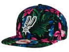 San Antonio Spurs New Era NBA HWC Shadow Floral 9FIFTY Snapback Cap Adjustable Hats