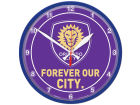 Orlando City SC Wincraft Chrome Wall Clock Home Office & School Supplies