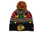 Chicago Blackhawks New Era NHL Ugly Sweater Knit Hats