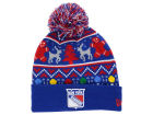New York Rangers New Era NHL Ugly Sweater Knit Hats