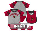 Louisville Cardinals adidas NCAA Infant Little Kicker Set Infant Apparel