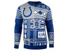 Indianapolis Colts Forever Collectibles NFL Men's Patches Ugly Sweater Sweatshirts