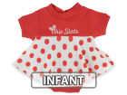 Ohio State Buckeyes NCAA Infant Polka Dot Dress Infant Apparel
