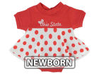 Ohio State Buckeyes NCAA Newborn Polka Dot Dress Infant Apparel