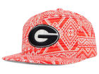 Georgia Bulldogs Top of the World NCAA Montezuma Snapback Cap Adjustable Hats