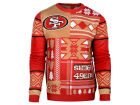 San Francisco 49ers Forever Collectibles NFL Men's Patches Ugly Sweater Sweatshirts