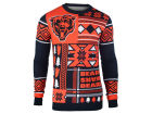 Chicago Bears Forever Collectibles NFL Men's Patches Ugly Sweater Sweatshirts