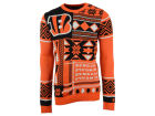 Cincinnati Bengals Forever Collectibles NFL Men's Patches Ugly Sweater Sweatshirts