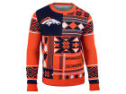 Denver Broncos Forever Collectibles NFL Men's Patches Ugly Sweater Sweatshirts