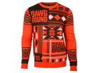 Cleveland Browns Forever Collectibles NFL Men's Patches Ugly Sweater Sweatshirts