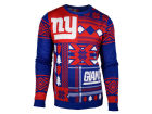 New York Giants Forever Collectibles NFL Men's Patches Ugly Sweater Sweatshirts