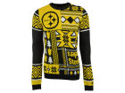 Pittsburgh Steelers Forever Collectibles NFL Men's Patches Ugly Sweater Sweatshirts