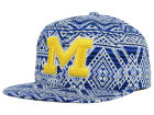 Michigan Wolverines Top of the World NCAA Montezuma Snapback Cap Adjustable Hats