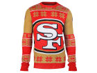 San Francisco 49ers Forever Collectibles NFL Men's Big Logo Ugly Sweater Pullovers
