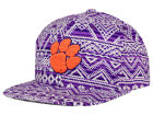 Clemson Tigers Top of the World NCAA Montezuma Snapback Cap Adjustable Hats