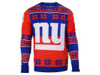New York Giants Forever Collectibles NFL Men's Big Logo Ugly Sweater Pullovers