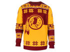 Washington Redskins Forever Collectibles NFL Men's Big Logo Ugly Sweater Pullovers
