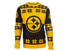 Pittsburgh Steelers Forever Collectibles NFL Men's Big Logo Ugly Sweater Pullovers