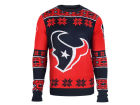 Houston Texans Forever Collectibles NFL Men's Big Logo Ugly Sweater Pullovers
