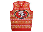 San Francisco 49ers Forever Collectibles NFL Men's Wordmark Ugly Vest Sweatshirts