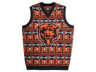 Chicago Bears Forever Collectibles NFL Men's Wordmark Ugly Vest Sweatshirts
