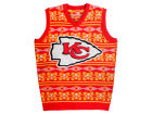 Kansas City Chiefs Forever Collectibles NFL Men's Wordmark Ugly Vest Sweatshirts