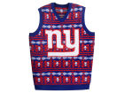 New York Giants Forever Collectibles NFL Men's Wordmark Ugly Vest Sweatshirts