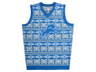 Detroit Lions Forever Collectibles NFL Men's Wordmark Ugly Vest Sweatshirts