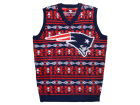 New England Patriots Forever Collectibles NFL Men's Wordmark Ugly Vest Sweatshirts