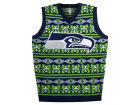 Seattle Seahawks Forever Collectibles NFL Men's Wordmark Ugly Vest Sweatshirts