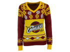 Cleveland Cavaliers Forever Collectibles NBA Women's Big Logo V-Neck Sweater Pullovers