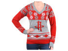 Houston Rockets Forever Collectibles NBA Women's Big Logo V-Neck Sweater Pullovers